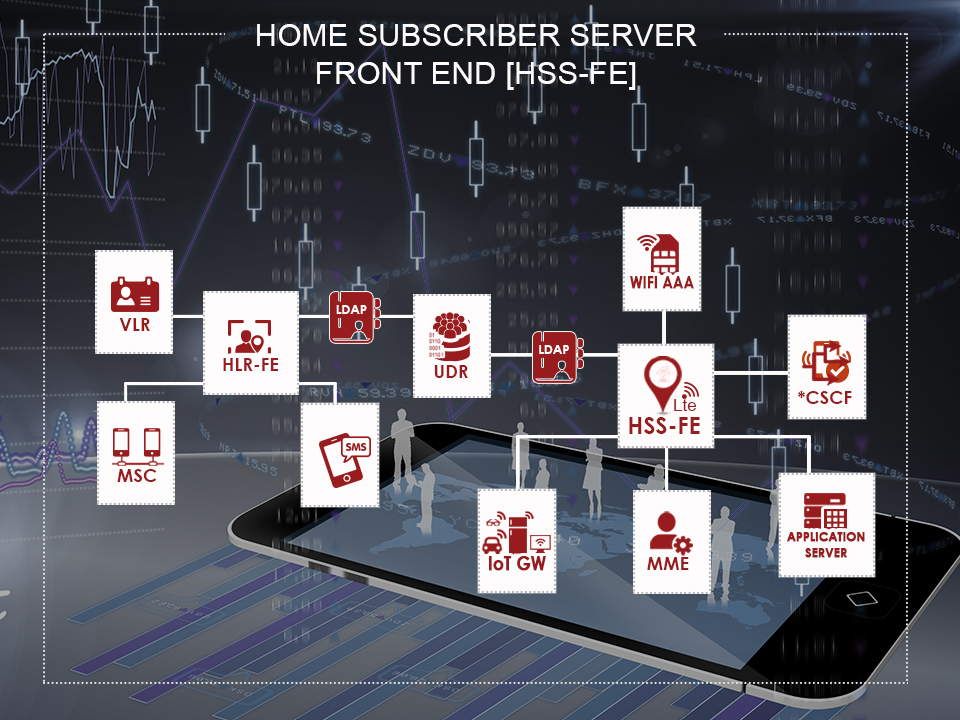 Architecture of Ouroboros Home Subscriber Server
